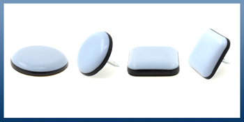 PTFE TEFLON COATED FURNITURE & APPLIANCE GLIDES