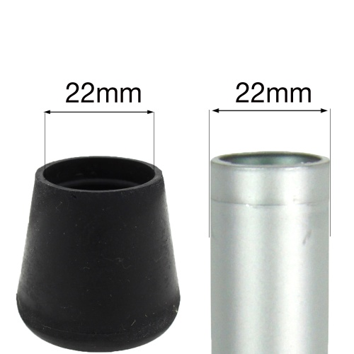 22mm Black Rubbers For Bottom Of Tables Amp Chairs Amp Other