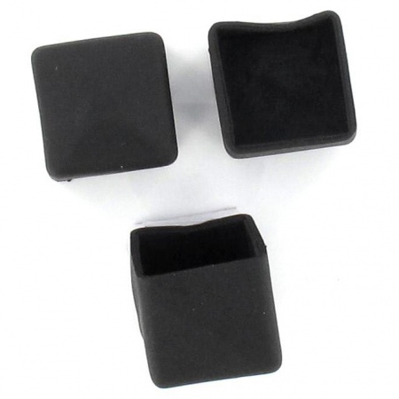 25mm 1 Rubber Ferrules Ideal For Furniture And Chair Legs