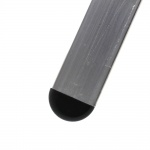20mm SQUARE DOMED TUBE INSERTS FOR ANGLED CHAIR LEGS