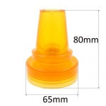 19mm (3/4'') Large Based Shock Absorbing Flexible Safety Ferrules Ideal For Walking Sticks