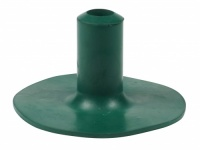 19mm (3/4'') Rubber Ferrules For Bowling Greens In Green | WALKING STICK GREEN PROTECTOR |