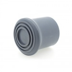 25mm (1'') Rounded Domed Shaped Grey Rubber Ferrules | Multi Purpose | IRONING BOARDS | STEP LADDERS