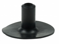 19mm (3/4'') Rubber Ferrules For Bowling Greens In Black