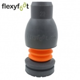 22mm FLEXYFOOT Grey Ferrules Ideal For Aluminium Crutches