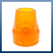 HIGH VISIBILITY ORANGE FERRULES