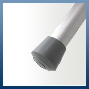 GREY RUBBER FERRULES IDEAL FOR TABLE & CHAIR LEGS