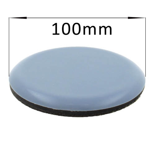 100mm Round PTFE Self Adhesive Glides