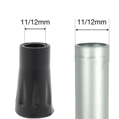 11 - 12mm (1/2'') TREKKING HIKING POLE FERRULES