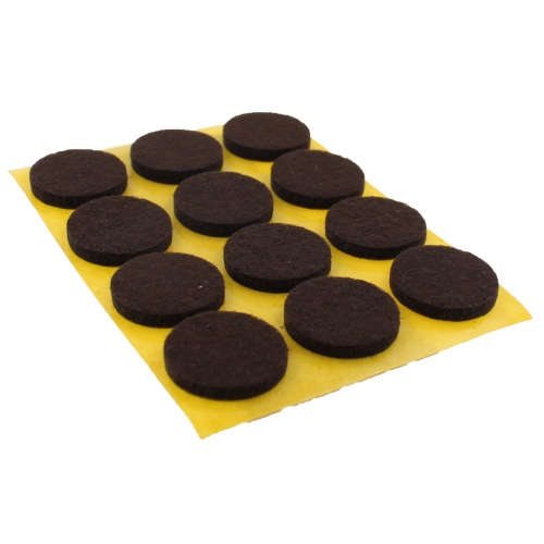 20mm ROUND SELF ADHESIVE FELT PADS