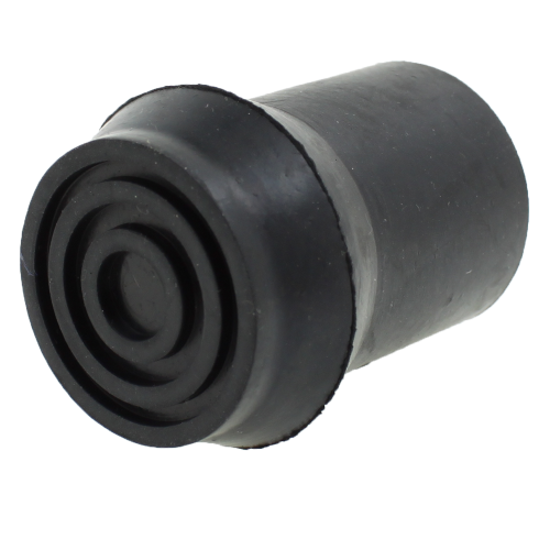 25mm (1'') Black Rubber Ferrules Type D