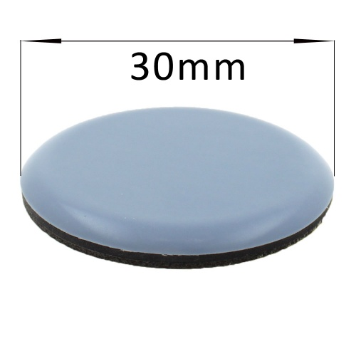 30mm Round PTFE Self Adhesive Glides