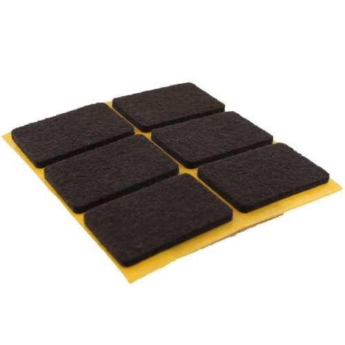 25mm x 35mm SELF ADHESIVE FELT PADS
