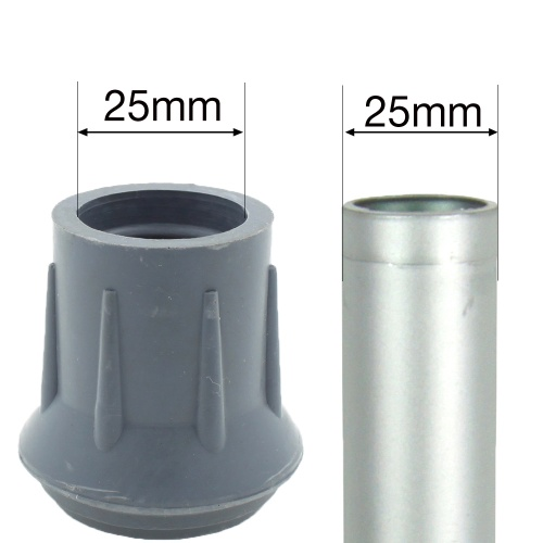 25mm (1'') ROUND DOMED SHAPED MULTI PURPOSE FERRULES