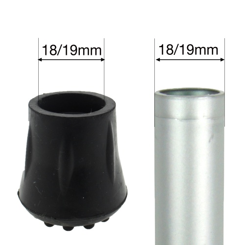 18 - 19mm (3/4'') RUBBER FERRULE TYPE C