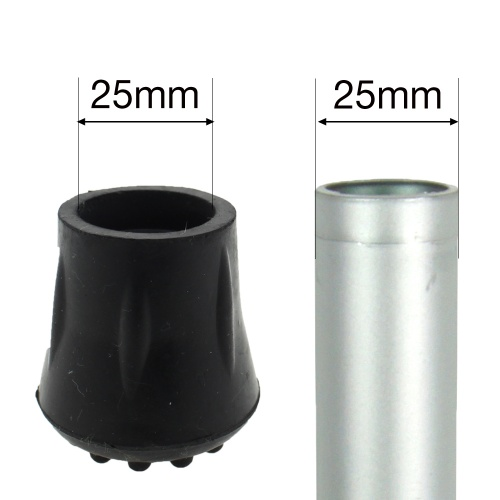 25mm (1'') RUBBER FERRULE TYPE C