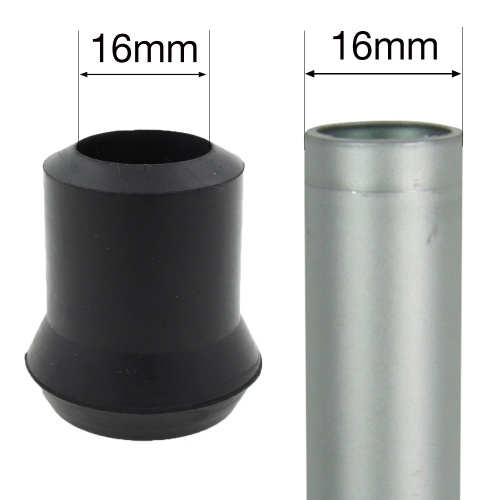 16mm (5/8'') RUBBER FERRULE TYPE D