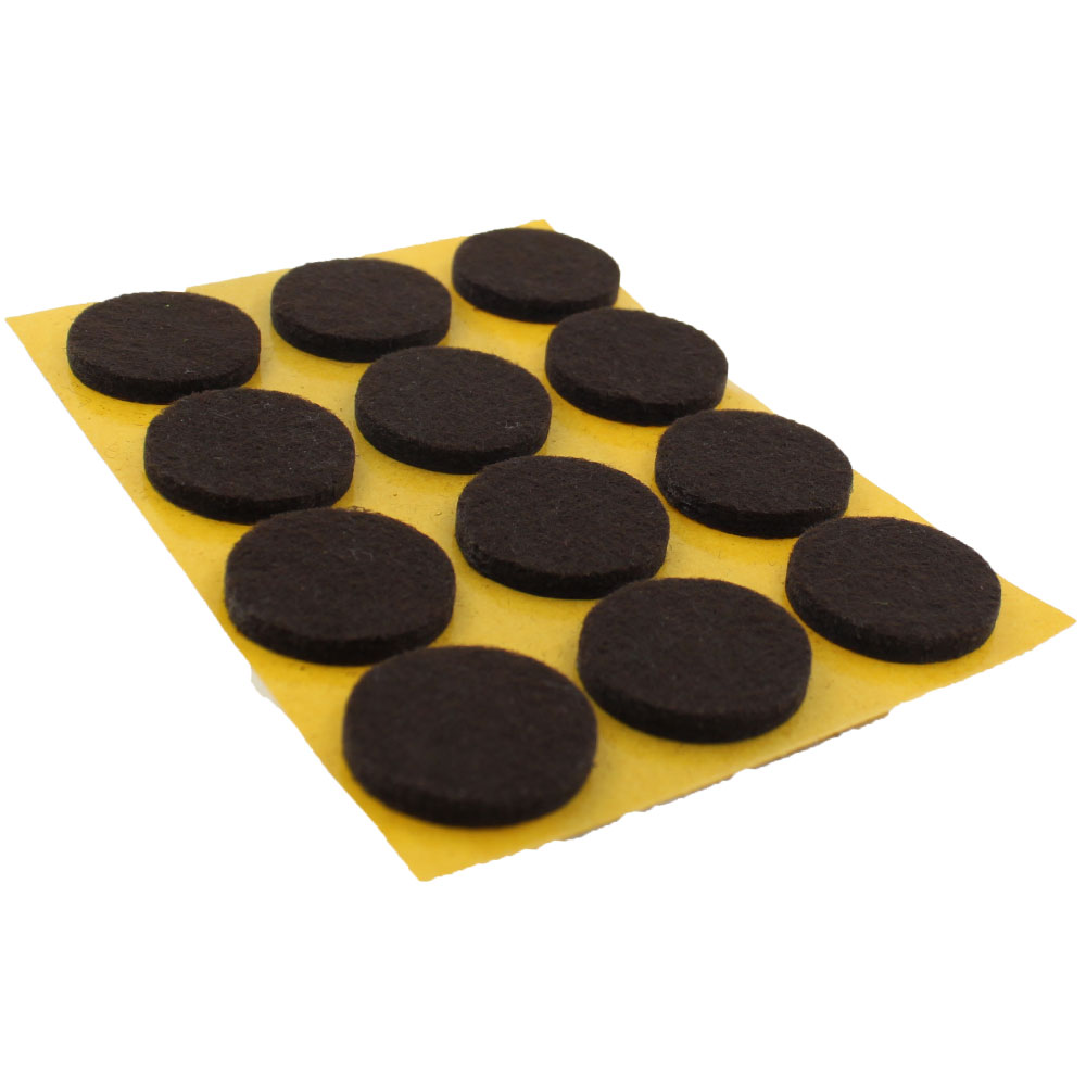 22mm Round Self Adhesive Felt Pads For Furniture Tables