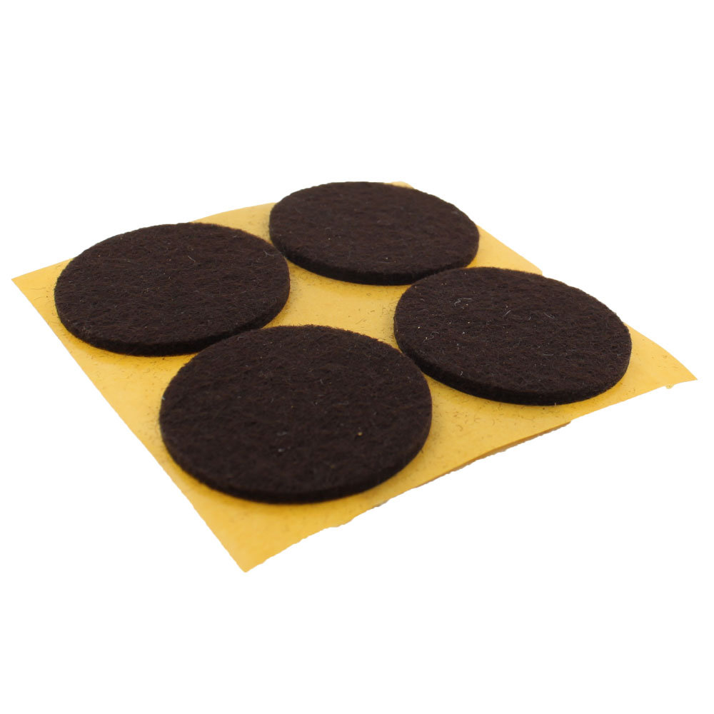 40mm Round Self Adhesive Felt Pads For Furniture Tables