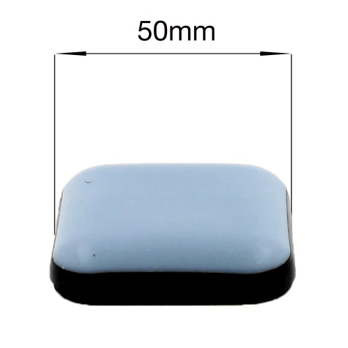 50mm Square Ptfe Teflon Self Adhesive Glides For All Types