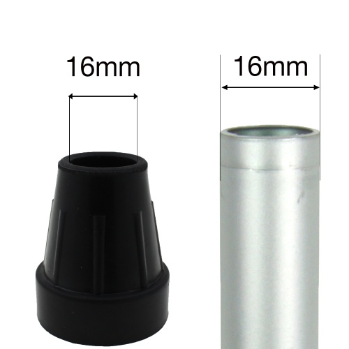 16mm (5/8'') HEAVY DUTY RUBBER FERRULES TYPE Z