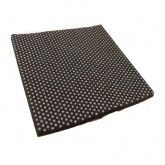 100mm SQUARE NON-SLIP COATED SELF ADHESIVE FELT PADS