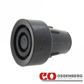 16mm (5/8'') Ossenberg Heavy Duty Rubber Ferrules Black
