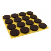 18mm ROUND SELF ADHESIVE FELT PADS