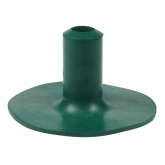 19mm (3/4'') RUBBER FERRULES FOR WALKING STICKS TO PROTECT BOWLING GREEN LAWNS