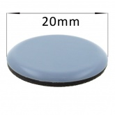 20mm Round PTFE Self Adhesive Glides