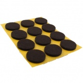 22mm ROUND SELF ADHESIVE FELT PADS