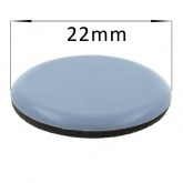 22mm Round PTFE Self Adhesive Glides