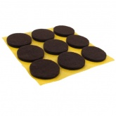 25mm Round Self Adhesive Felt Pads Ideal For Furniture & Also For Table & Chair Legs