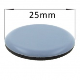 25mm Round PTFE Self Adhesive Glides