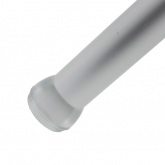 25mm Silicon Clear Transparent Ferrules For The Bottoms Of Table & Chair Legs & Other Tubular Feet