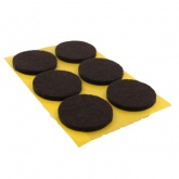 28mm Round Self Adhesive Felt Pads Ideal For Furniture & Also For Table & Chair Legs