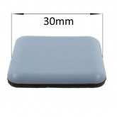 30mm Square PTFE Self Adhesive Glides