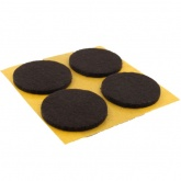 35mm Round Self Adhesive Felt Pads Ideal For Furniture & Also For Table & Chair Legs