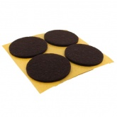 40mm Round Self Adhesive Felt Pads Ideal For Furniture & Also For Table & Chair Legs