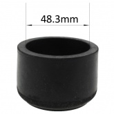 Ø48mm Size 8 G40 Rubber Non-Slip End Cap Fittings For Scaffolding Poles & Steel Galvanized Handrails