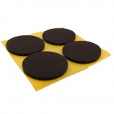 50mm Round Self Adhesive Felt Pads Ideal For Furniture & Also For Table & Chair Legs
