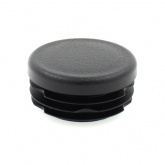 25mm ROUND RIBBED INSERTS END CAPS FOR DESKS, TABLES & CHAIR LEGS