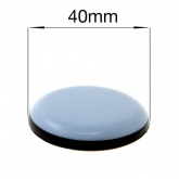 40mm ROUND SELF ADHESIVE PTFE COATED GLIDES FOR FURNITURE & APPLIANCES