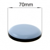 70mm ROUND SELF ADHESIVE PTFE COATED GLIDES FOR FURNITURE & APPLIANCES