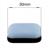 30mm SQUARE SELF ADHESIVE PTFE TEFLON GLIDES FOR FURNITURE & APPLIANCES