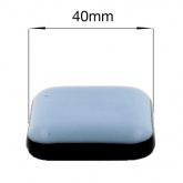 40mm SQUARE SELF ADHESIVE PTFE TEFLON GLIDES FOR FURNITURE & APPLIANCES